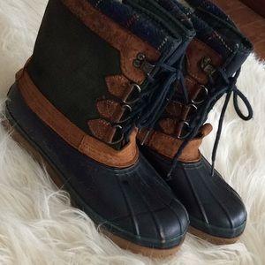 Winter 💕EDDIE BAUER💞lace boots